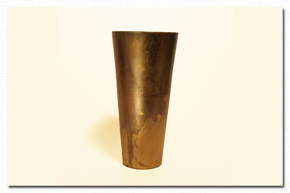 Tall Gold Leaf Vase-California Wall Design Inc.