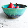 Noodle Bowl 6 cup in Turquoise and Khaki or Green Tea