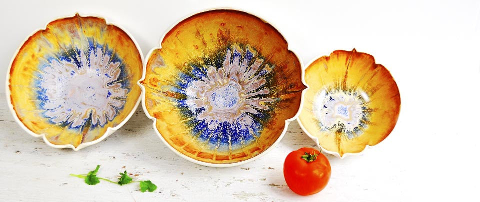 Arabesque bowls turn your table into personal expression