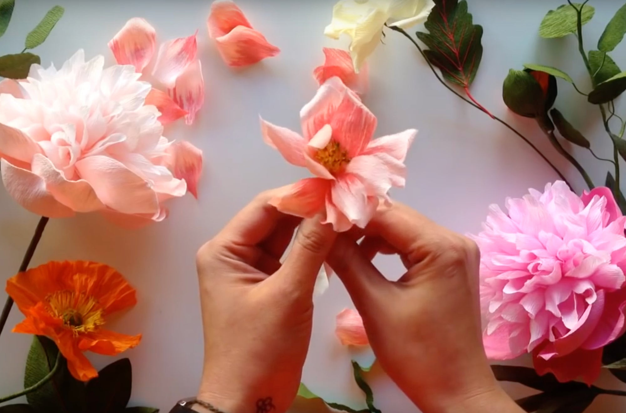 How To Make A Paper Rose Video
