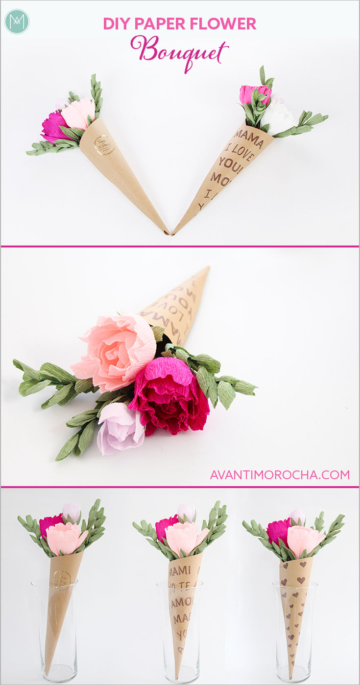 Diy crepe paper flower bouquet carte fini diy crepe paper flower bouquet izmirmasajfo Image collections