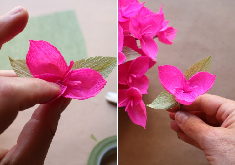 Crepe paper godetia and bougainvillea carte fini i hope youve enjoyed this post as much as i enjoyed making these flowers please let us know if you have any questions and if youd like to attend one of mightylinksfo