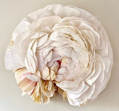 crepe paper ranunculus by tiffanie turner