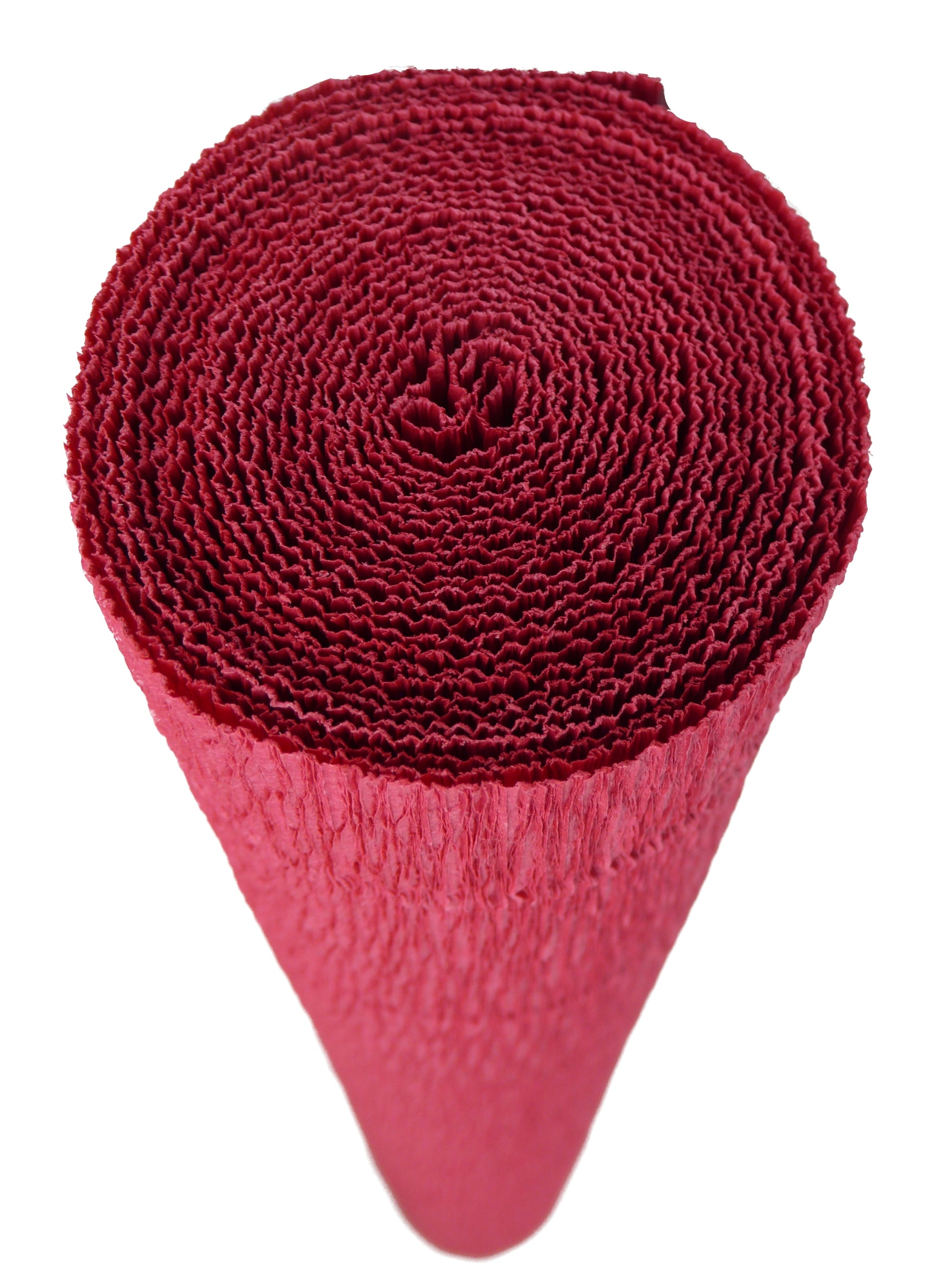 Italian Crepe Paper roll 180 gram - 17A/6 PRETTY PINKISH RUSTY RED BY TIFFANIE TURNER