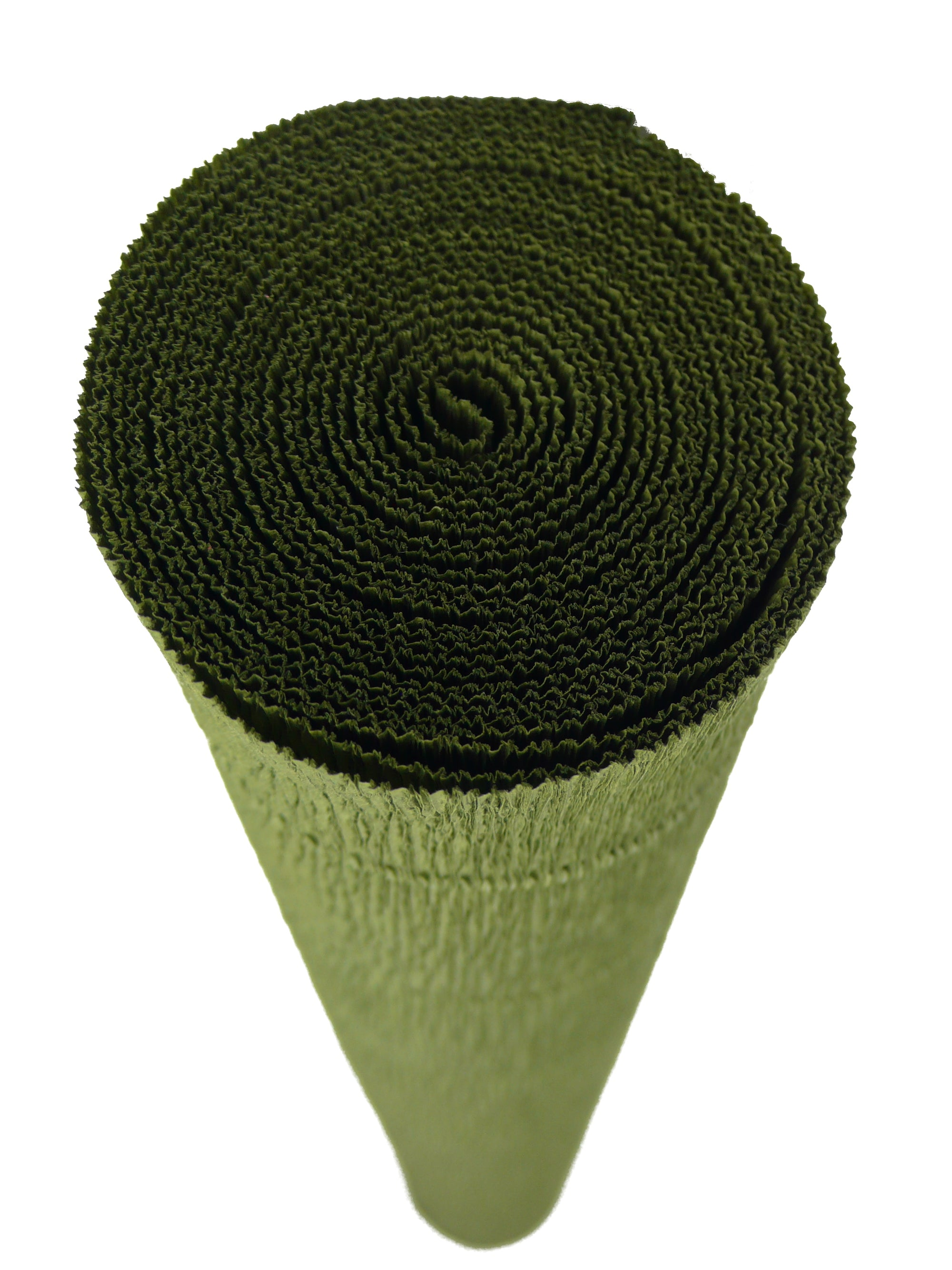 Italian Crepe Paper roll 180 gram - 17A/8 OLIVE GREEN BY TIFFANIE TURNER