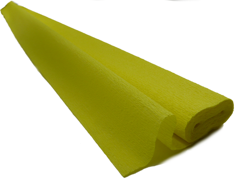 Italian Crepe Paper roll 60 gram - 292 CHICK YELLOW
