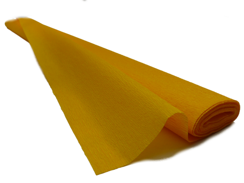 Italian Crepe Paper roll 60 gram - 294 BASE ORANGE