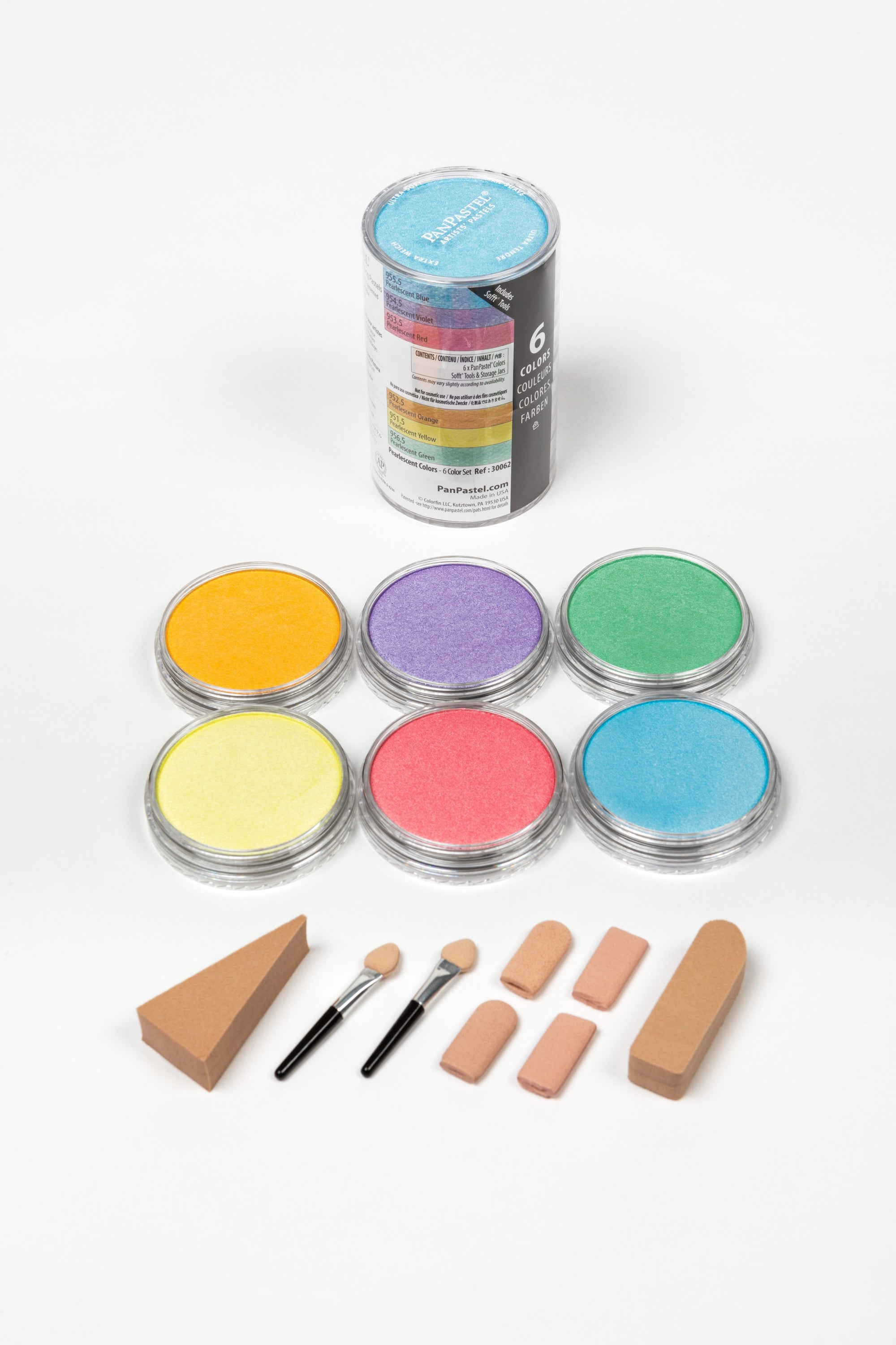 PanPastel - 30062 PEARLESCENT 6 COLOUR SET