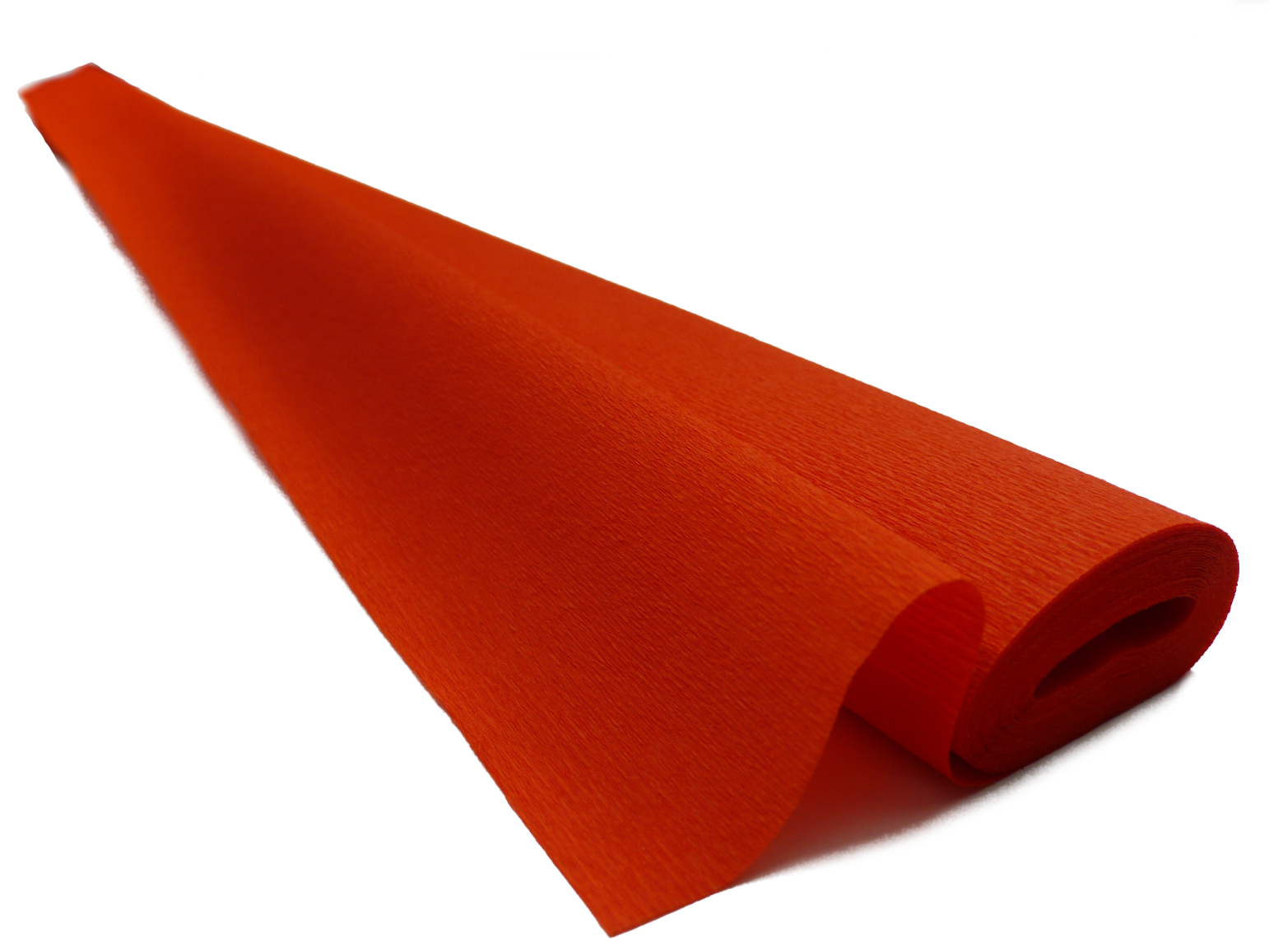 Italian Crepe Paper roll 60 gram - 306 INTENSE DARK ORANGE