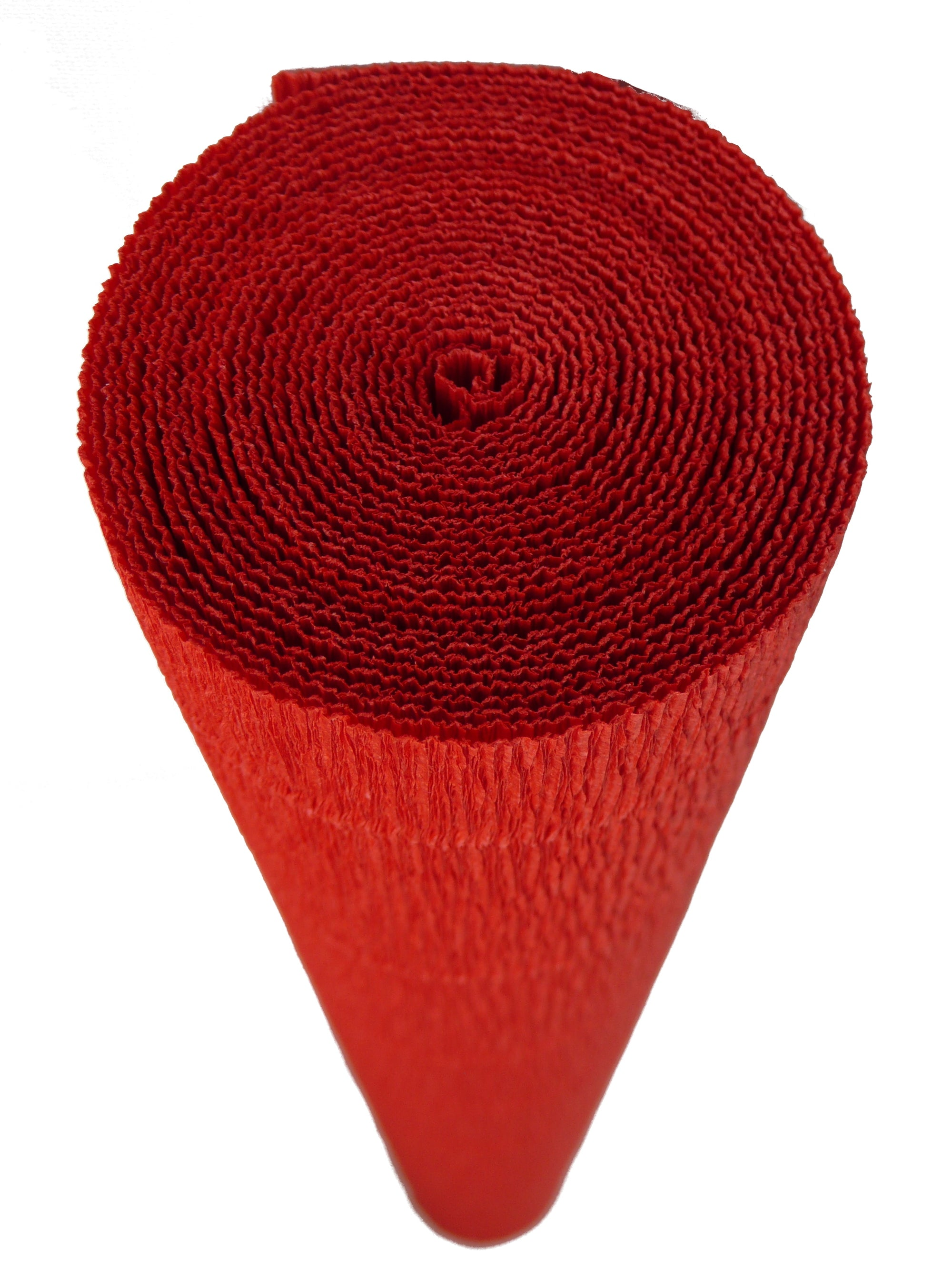 Italian Crepe Paper roll 180 gram - 618 Deep Orange Red BY TIFFANIE TURNER