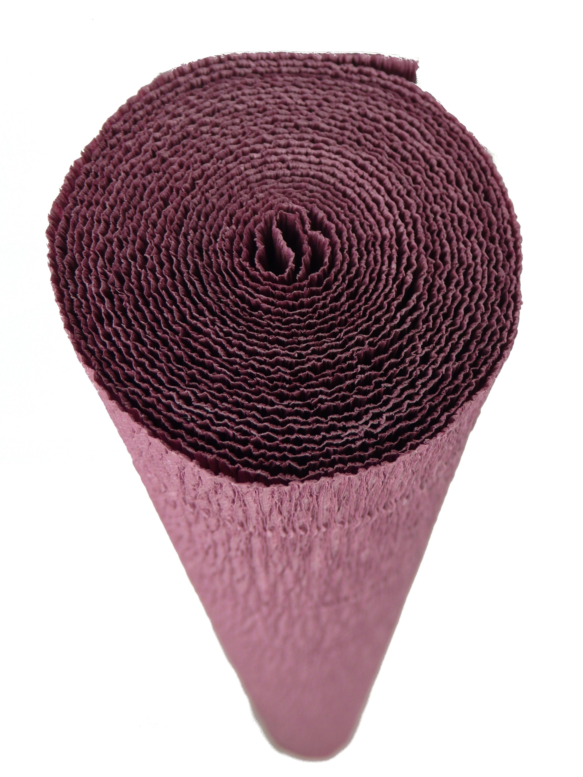 Italian Crepe Paper roll 180 gram - 620 Dusky Plum BY TIFFANIE TURNER