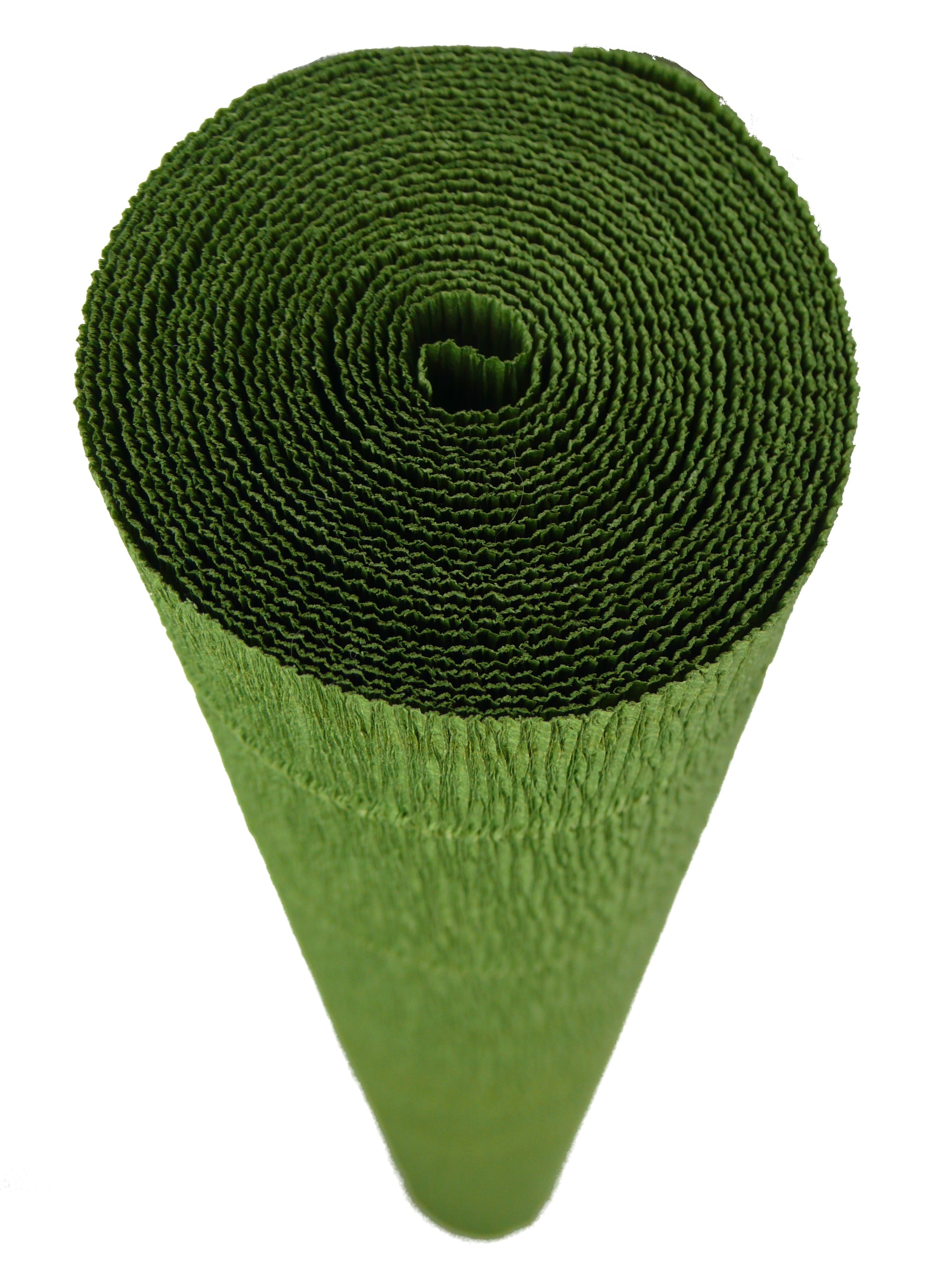 Italian Crepe Paper roll 180 gram - 622 Dark Khaki Green BY TIFFANIE TURNER