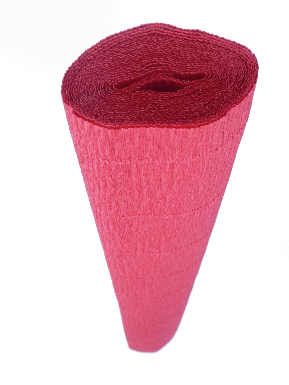 Italian Crepe Paper roll 140 gram Water Resistant - 786 RUBY RED