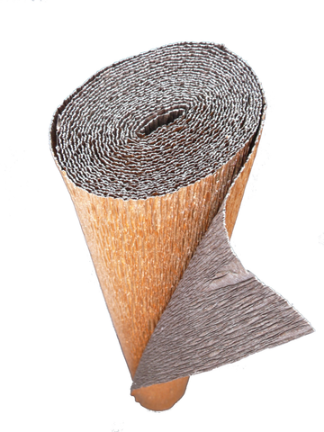 Italian Crepe Paper roll 180 gram - 808/6 Bi-Color METALLIC COPPER/BROWN