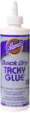Aleenes Quick Dry Glue - 8 OZ
