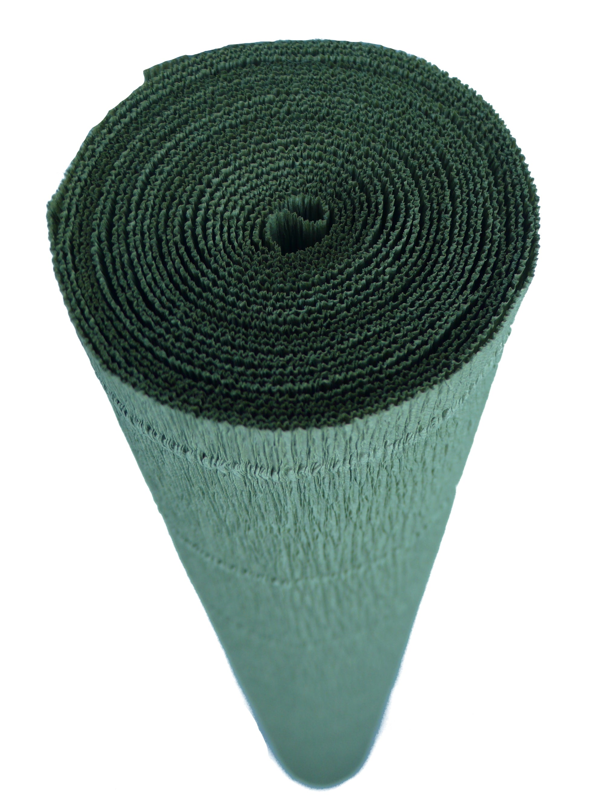 Italian Crepe Paper Roll 180 gram - 612 Antique Green Earth