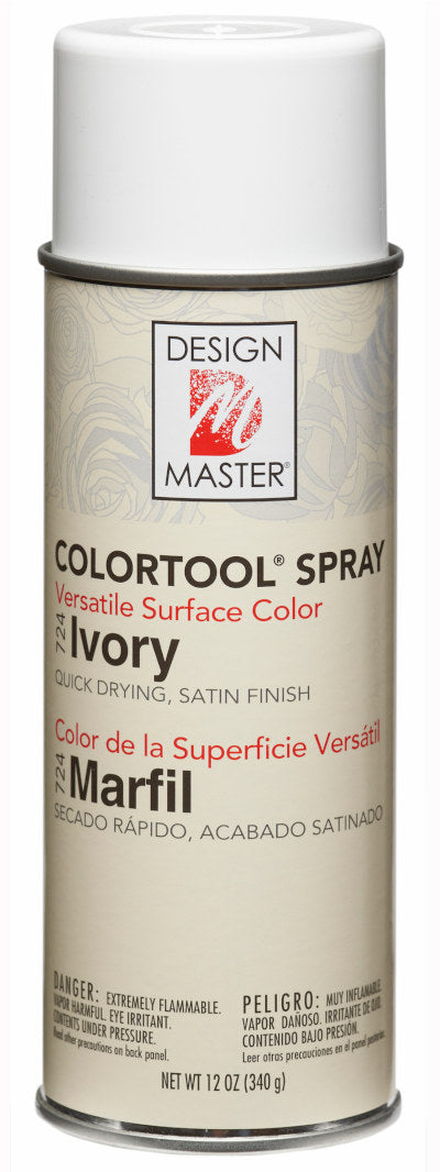 Design Master - ColorTool Spray - Ivory 724