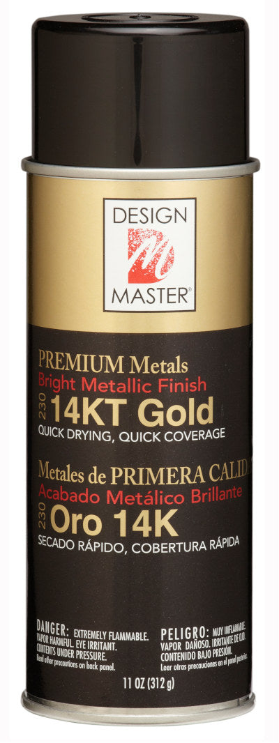 Design Master - ColorTool Spray - Metallic 14KT Gold 230
