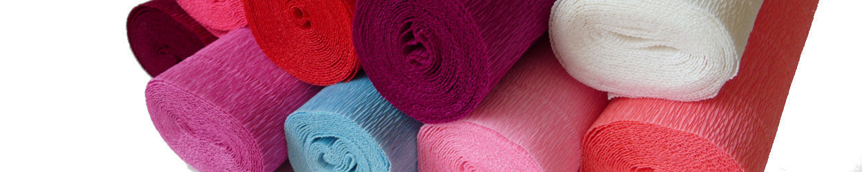 Beautiful Italian-made crepe paper