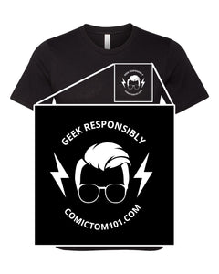 ComicTom Left Chest Men's Tee
