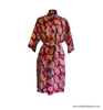 Rainbow Leaf Batik Robe