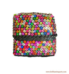 Sequins & Beads Basket V