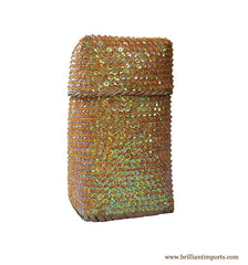 Sequins & Beads Basket I