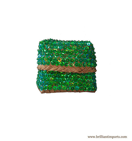 Sequins & Beads Basket III