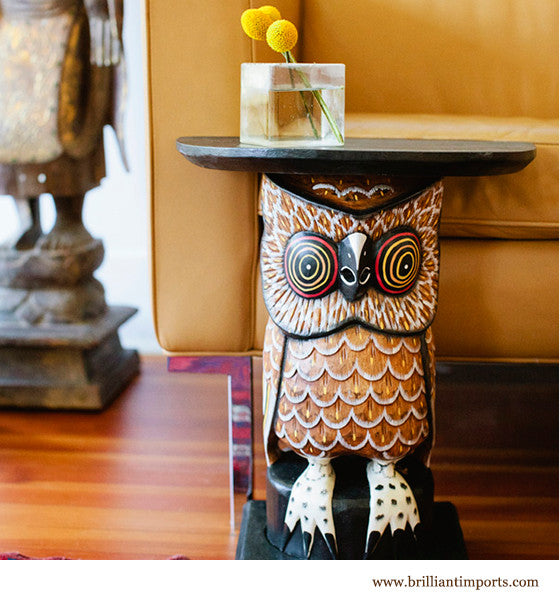 {shipwrecked} Wise Owl Table