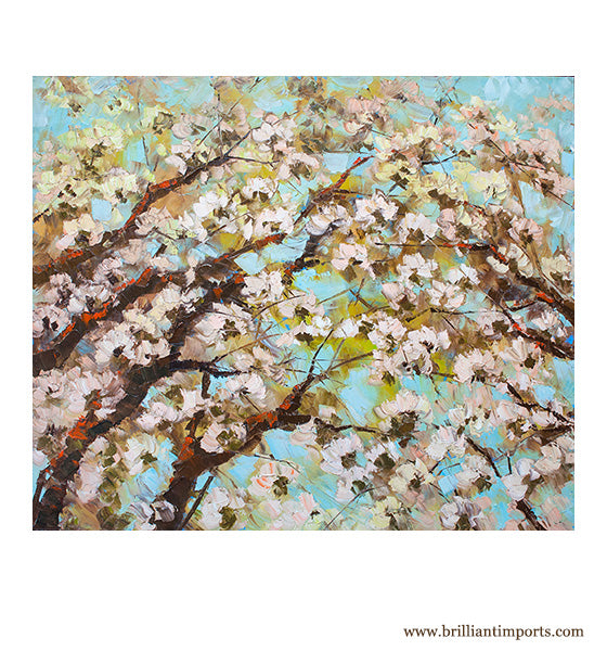 Sakura Flowers Painting 2
