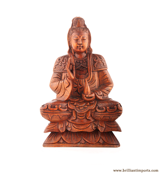 Quan Yin Sitting, Small