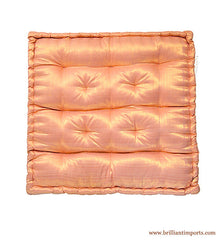 Shimmery Blush Yoga Meditation Cushion