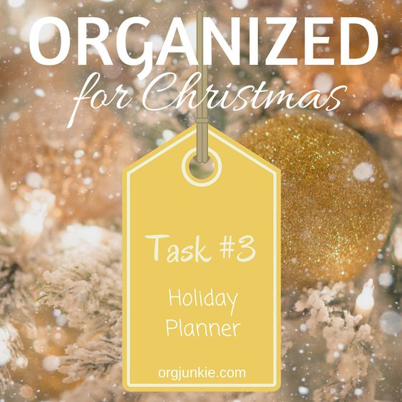 Tops Tips to be Organized for Christmas