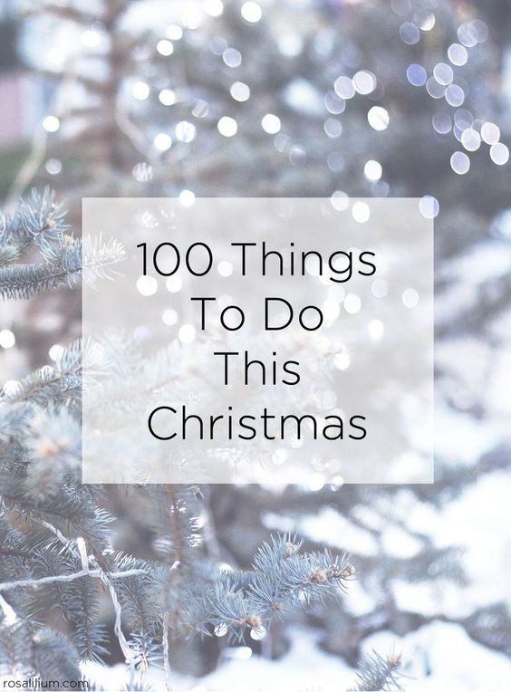 Make Your List...Check it 100 Times! Making Christmas Fun