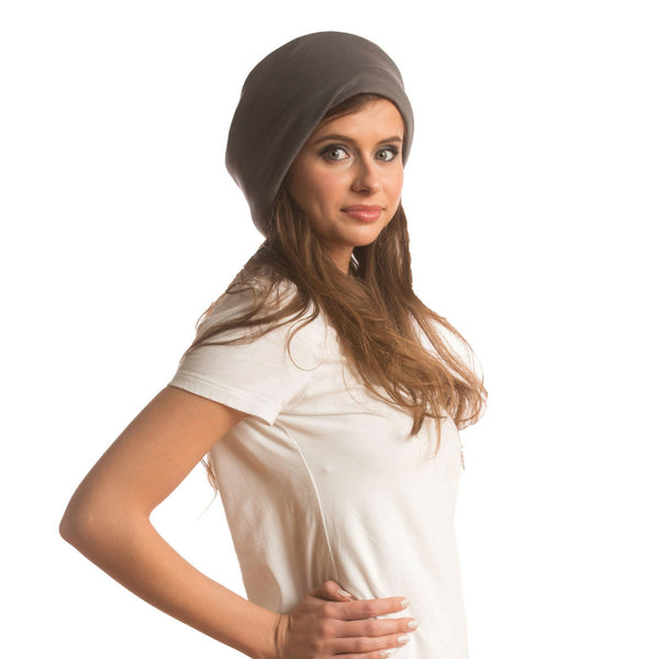 SHOLDIT Convertible Neck Gaiter with Pocket Grey Ear Warmer