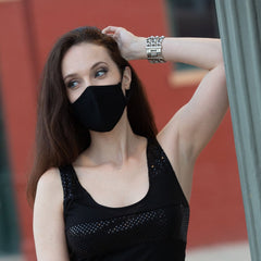 Convertible Face Mask 100% Cotton Mens Womens