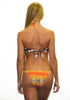Ombre string bottom w/gold chains