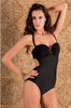 Solid Padded One-Piece w/gold Ring