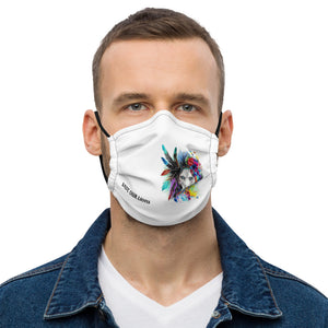 SAVE OUR LIONS REUSEABLE MASK