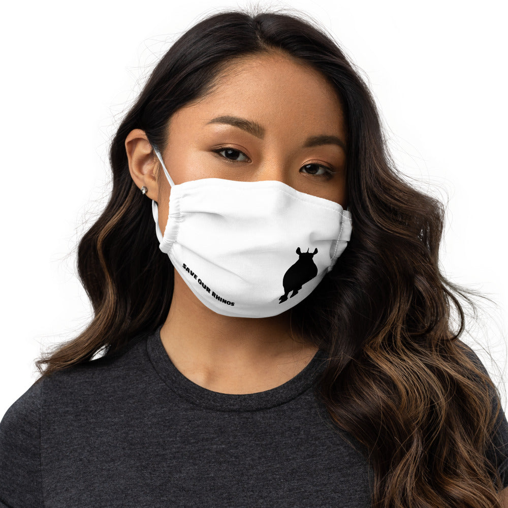 SAVE OUR RHINOS REUSEABLE MASK