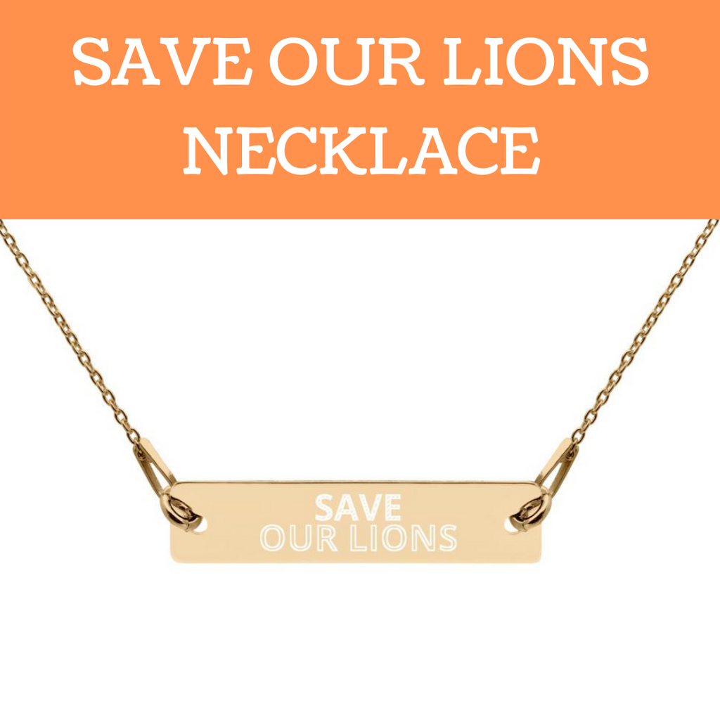 SAVE OUR LIONS NECKLACE