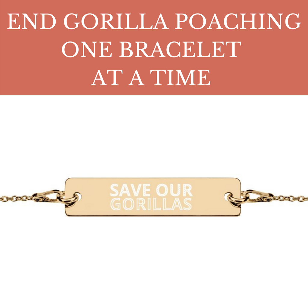 END GORILLA POACHING BRACELET