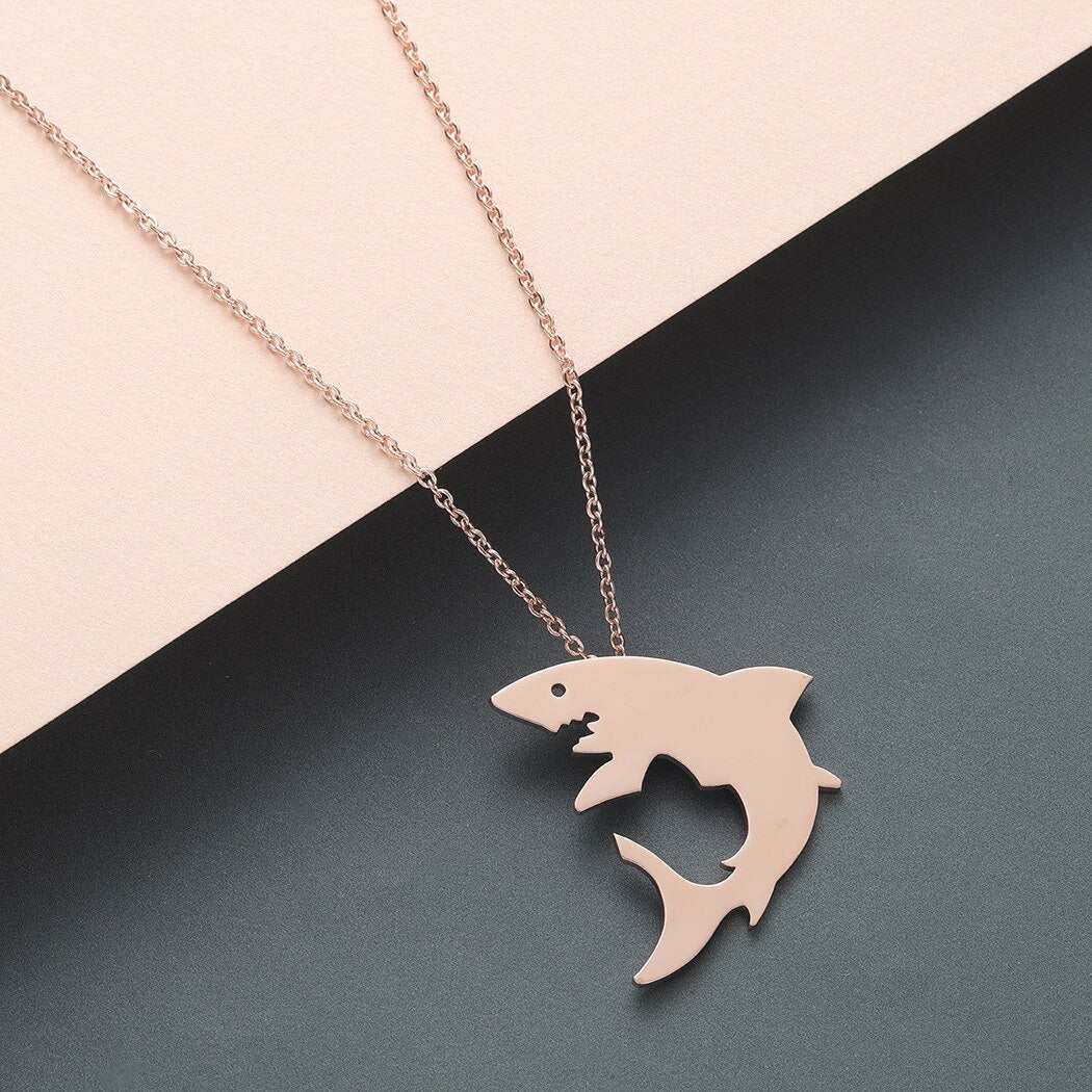 Save Our Whale Sharks Necklace