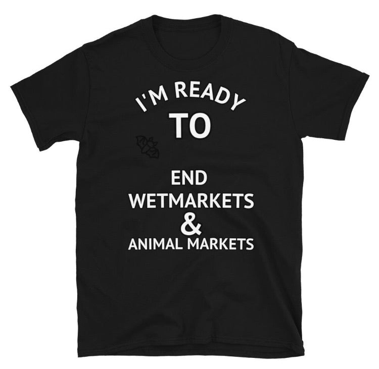END THE ANIMAL MARKET T-SHIRT