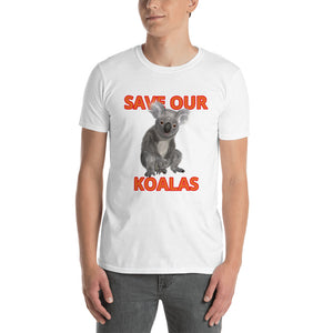SAVE OUR KOALAS T-SHIRT