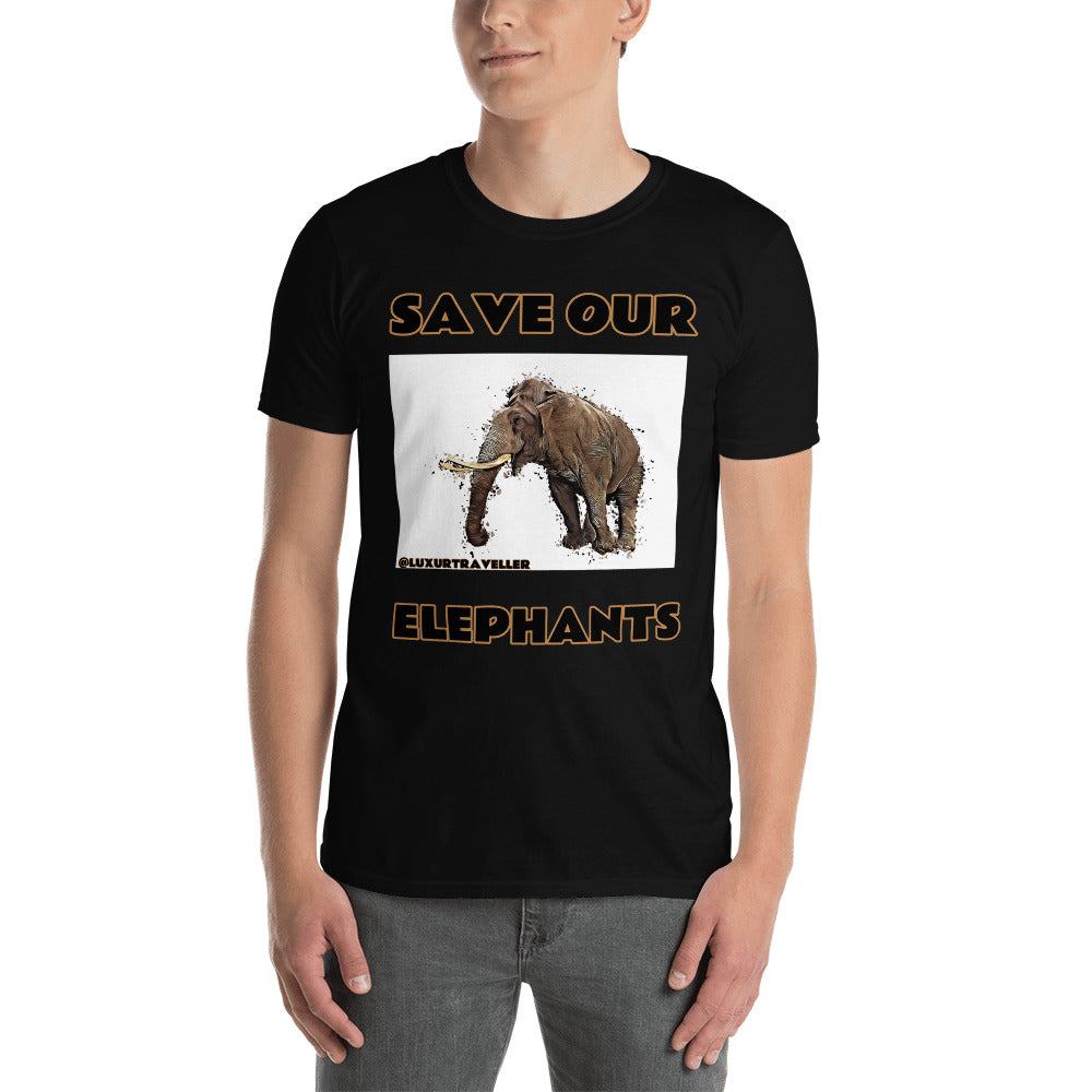 SAVE OUR ELEPHANTS T-SHIRT