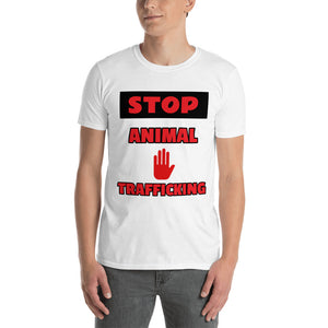 STOP ANIMAL TRAFFICKING T-SHIRT