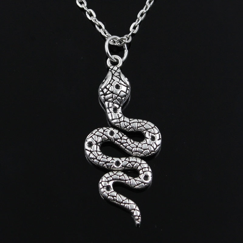 Smooth Snake Necklace