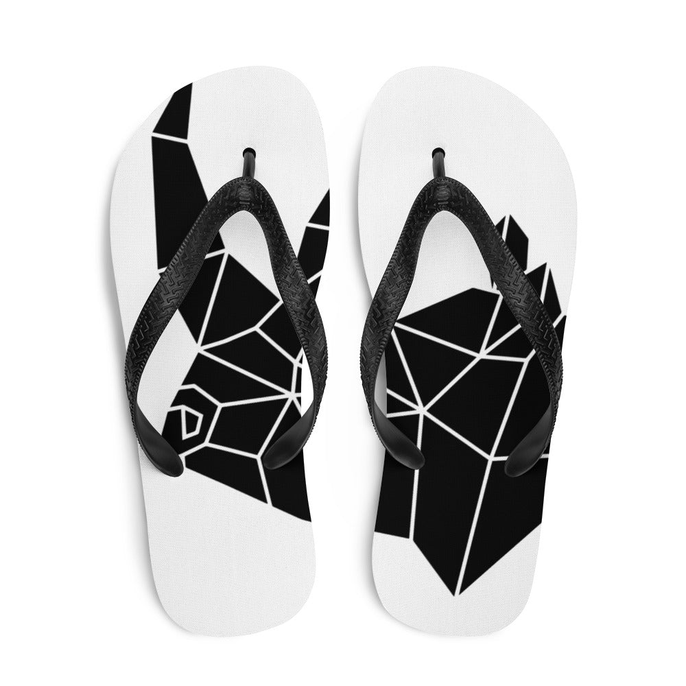 SAVE OUR RHINOS FLIP FLOPS