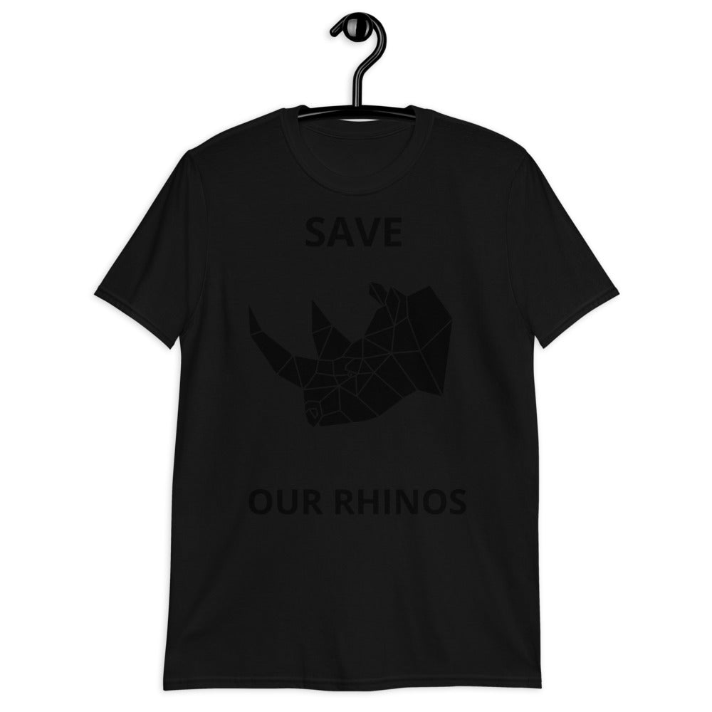 SAVE OUR RHINOS UNISEX T-SHIRT